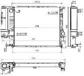 Radiador MINl-COOPER 1.61-16V.