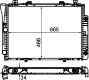radiador-mercedes-w140